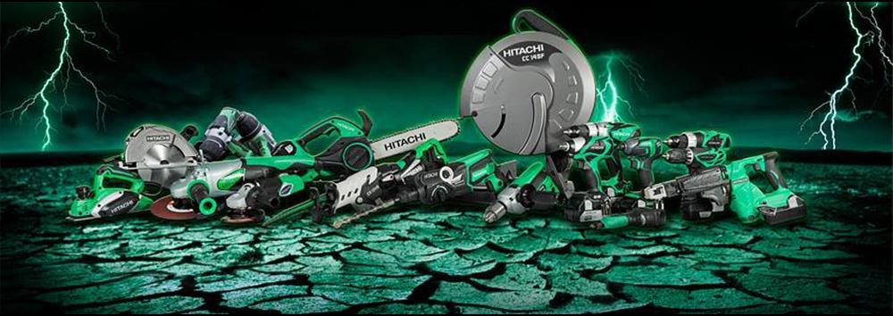Hitachi įrankiai